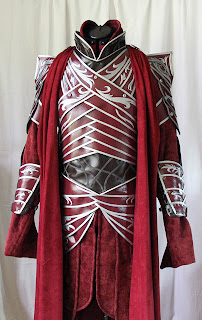 Lord Elrond cape completed.