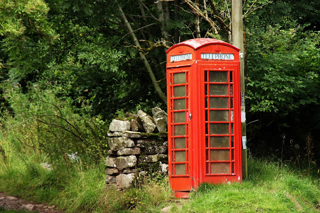 telephone box wales