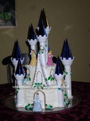 Cinderella Castle Cake Cinderellas castle cakes