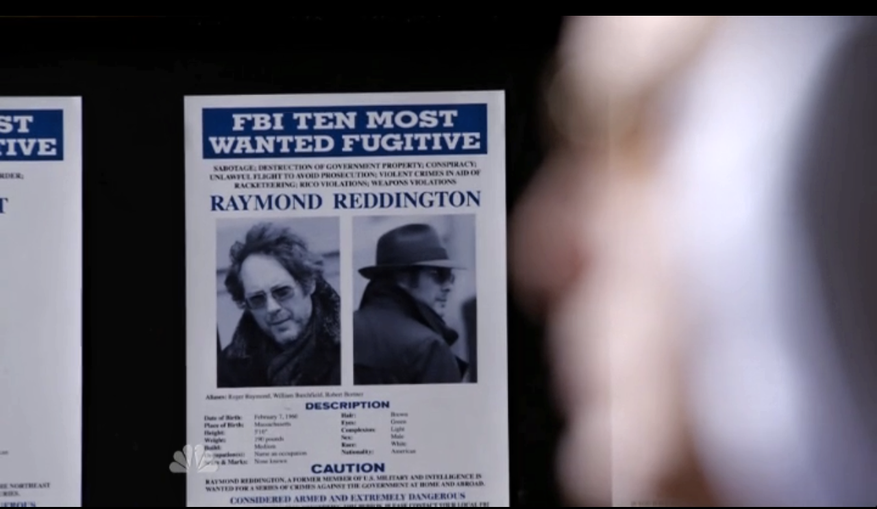 The_Blacklist. Raymond 'Red' Reddington