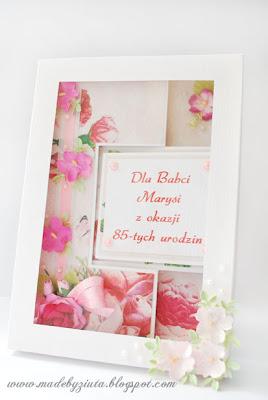 kartki okolicznościowe ręcznie robione kartka urodzinowa kartka swing dla babci