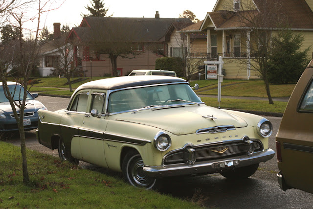 1956 DeSoto Firedome sedan.