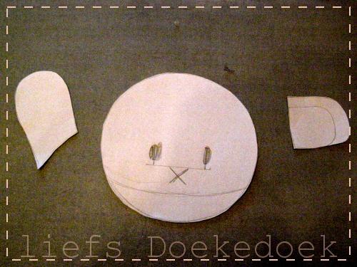 afbeelding van patroon Nijntje rugzak door Doekedoek, www.doekedoek.nl
