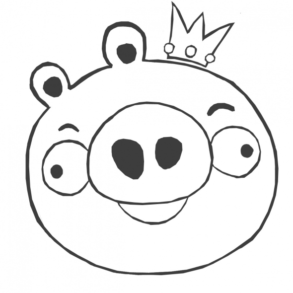 Free Coloring Pages Of Red Angry Birds