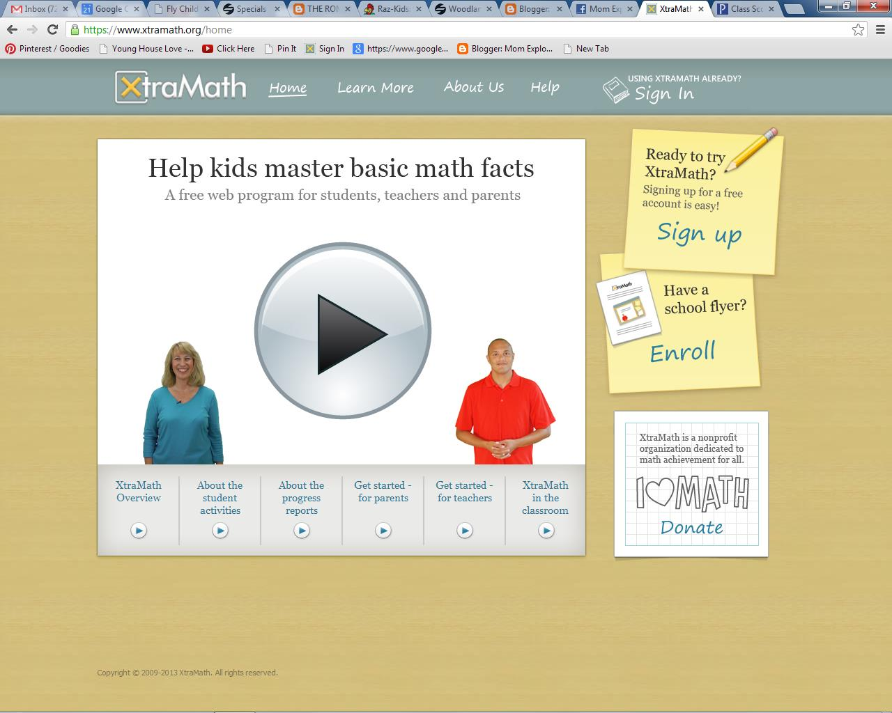 For Kids: The best math website out there, Xtramath.org | Brooke ...