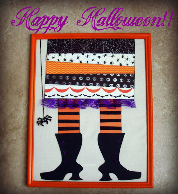 Framed witch feet Top 10 Recipes and Tutorials of 2013