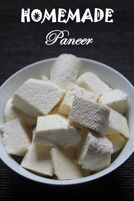 ... Paneer Recipe / Homemade Indian Cottage Cheese / How to Make Paneer at