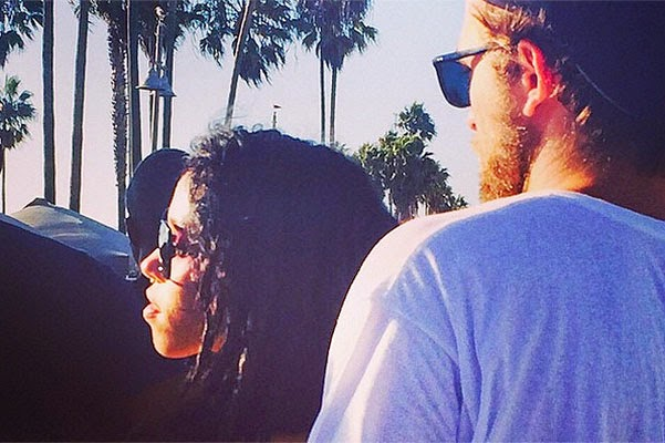 Robert Pattinson was photographed with a new girlfriend
