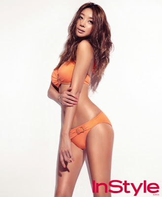 Choi Yeo Jin - InStyle Magazine July Issue 2013 Sexy Body