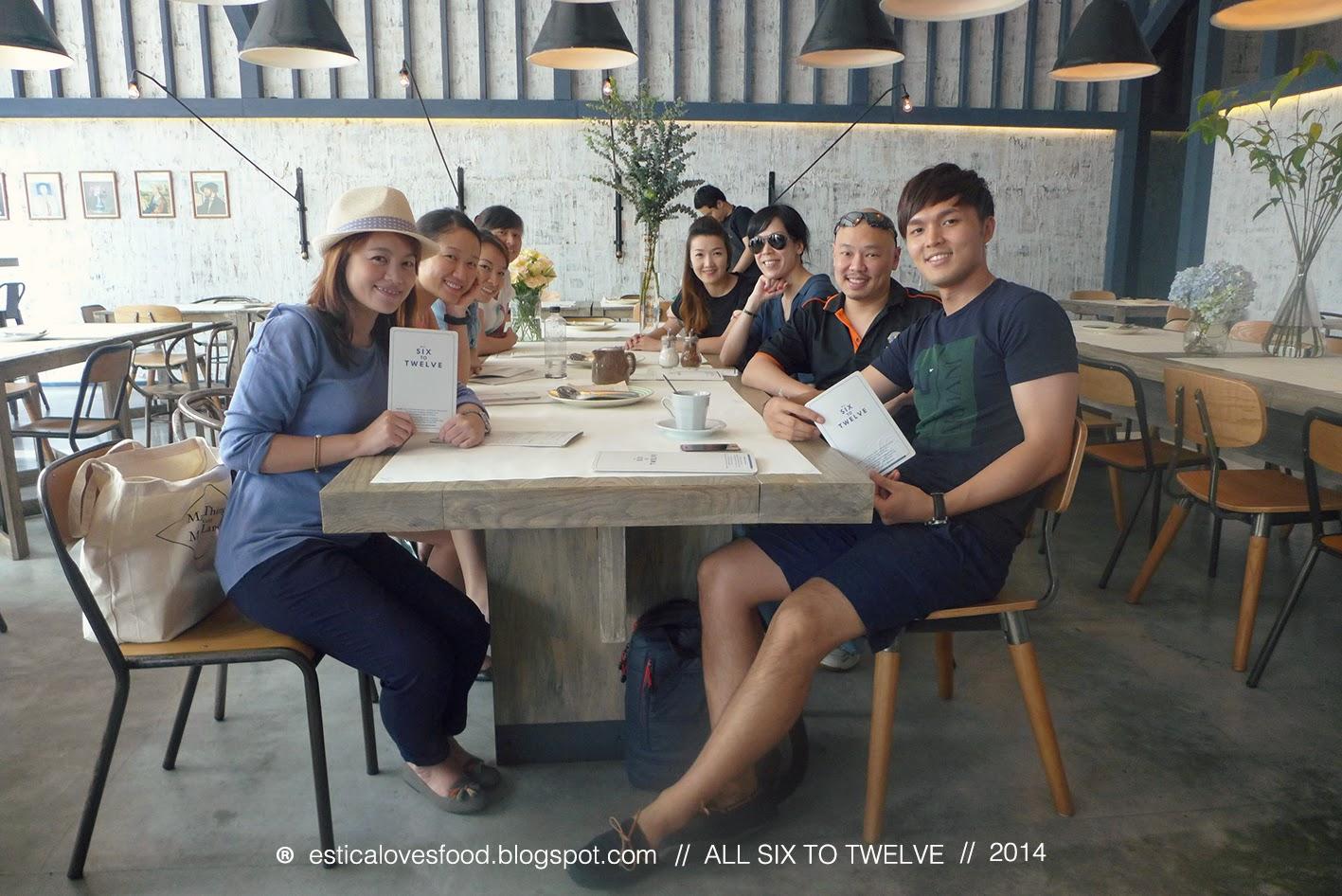 BANGKOK . ALL SIX TO TWELVE 曼谷 . 全天18小時營業的優質食堂 (完全符合我心目中平、靚、正的條件!)