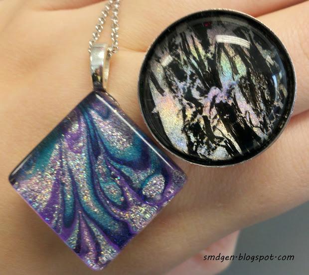 art nail polish jewelry