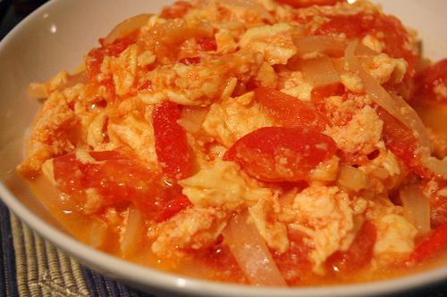 Tomato Eggs Recipes — Dishmaps