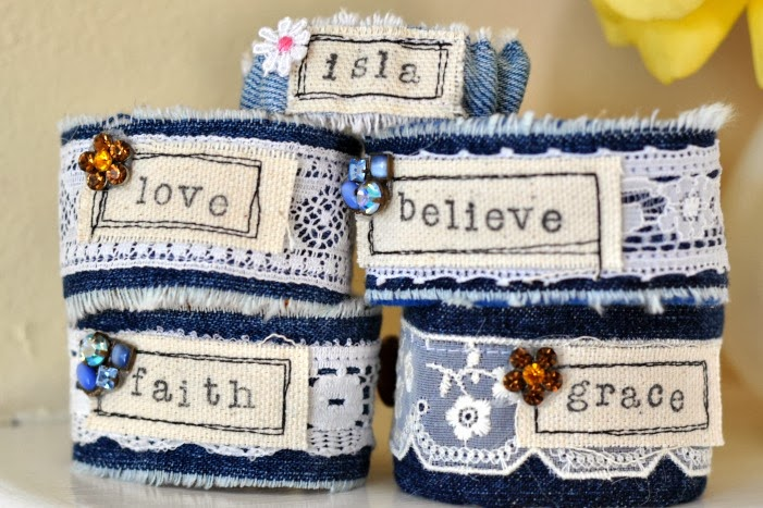 Sole Hope denim bracelet fundraiser