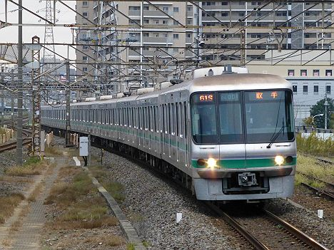 東京メトロ千代田線 常磐線直通 柏行き1 06系