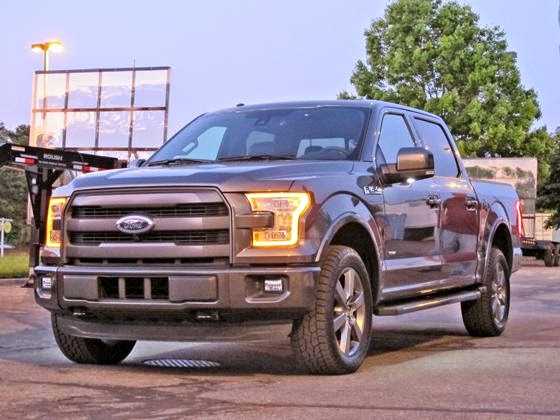 rack it truck racks 2015 ford f 150 seen on the streets. Black Bedroom Furniture Sets. Home Design Ideas
