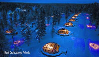 Hotel Kakslauttanen, Finlandia