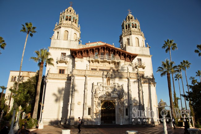 Hearst Castle - Cambria Wedding Photographer - San Simeon Wedding Venue - studio 101 west