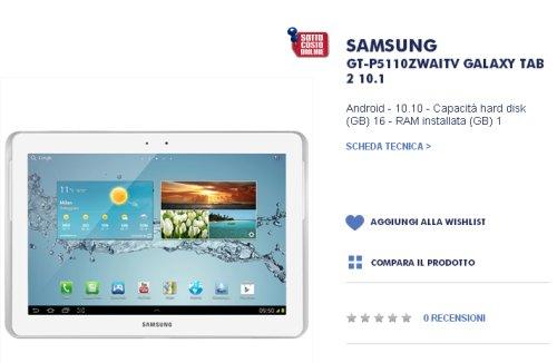 Trony vende a soli 199 euro questo tablet da 10,1 pollici abbastanza completo
