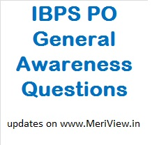 IBPS PO GK Questions