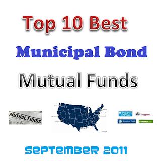 Best Municipal Bond Mutual Funds September 2011