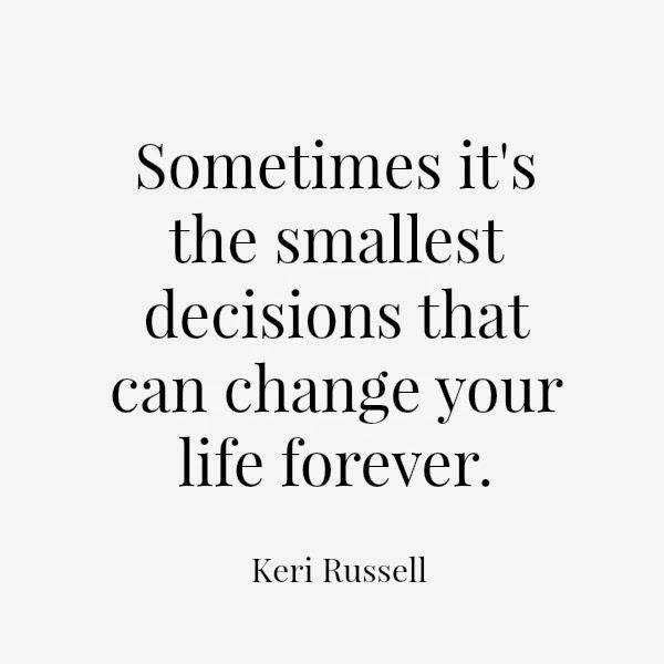 Keri Russell // Change
