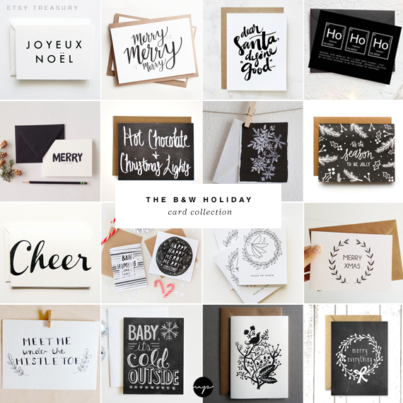 The b&w holiday card collection | My Paradissi