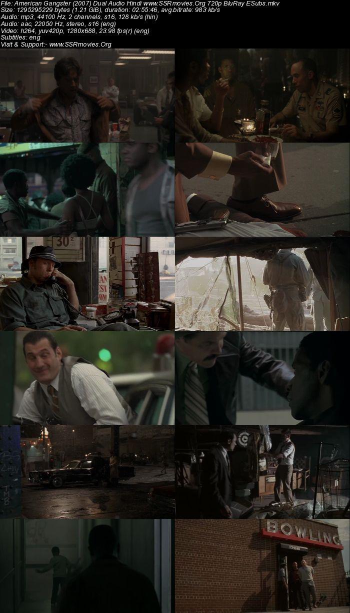 American Gangster (2007) Dual Audio Hindi 720p BluRay