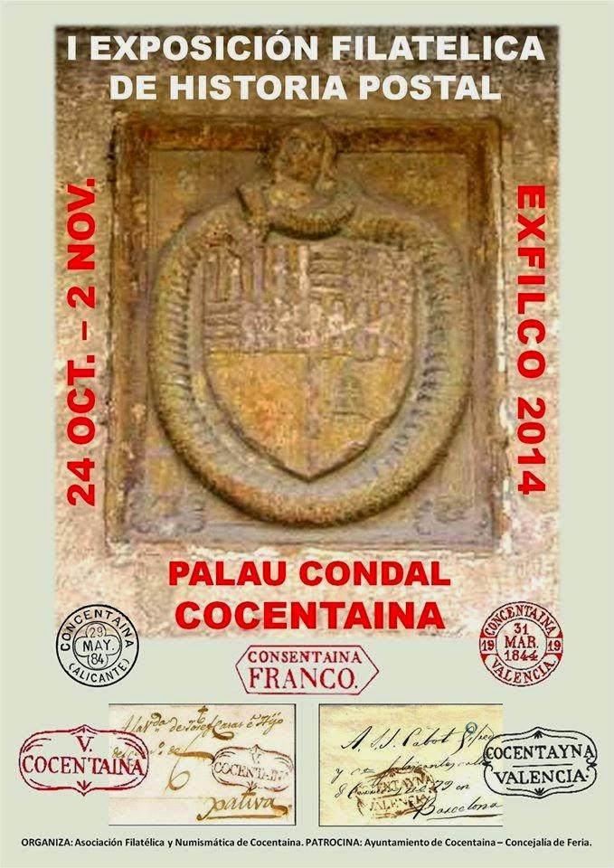 El mundo del coleccionismo i exp filatelica de historia - Cocentaina espana ...