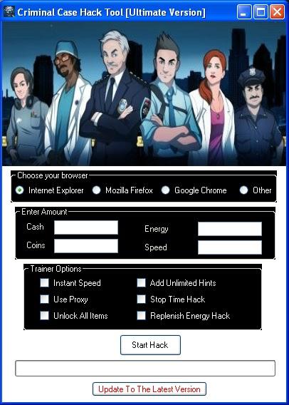 CRIMINAL CASE Facebook [pièces espèces énergie vitesse allusions] Triche Télécharger
