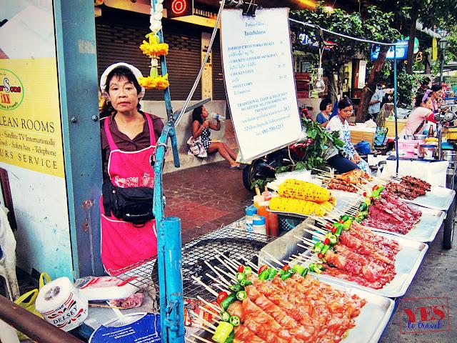 Satay at Khaosan Road Bangkok