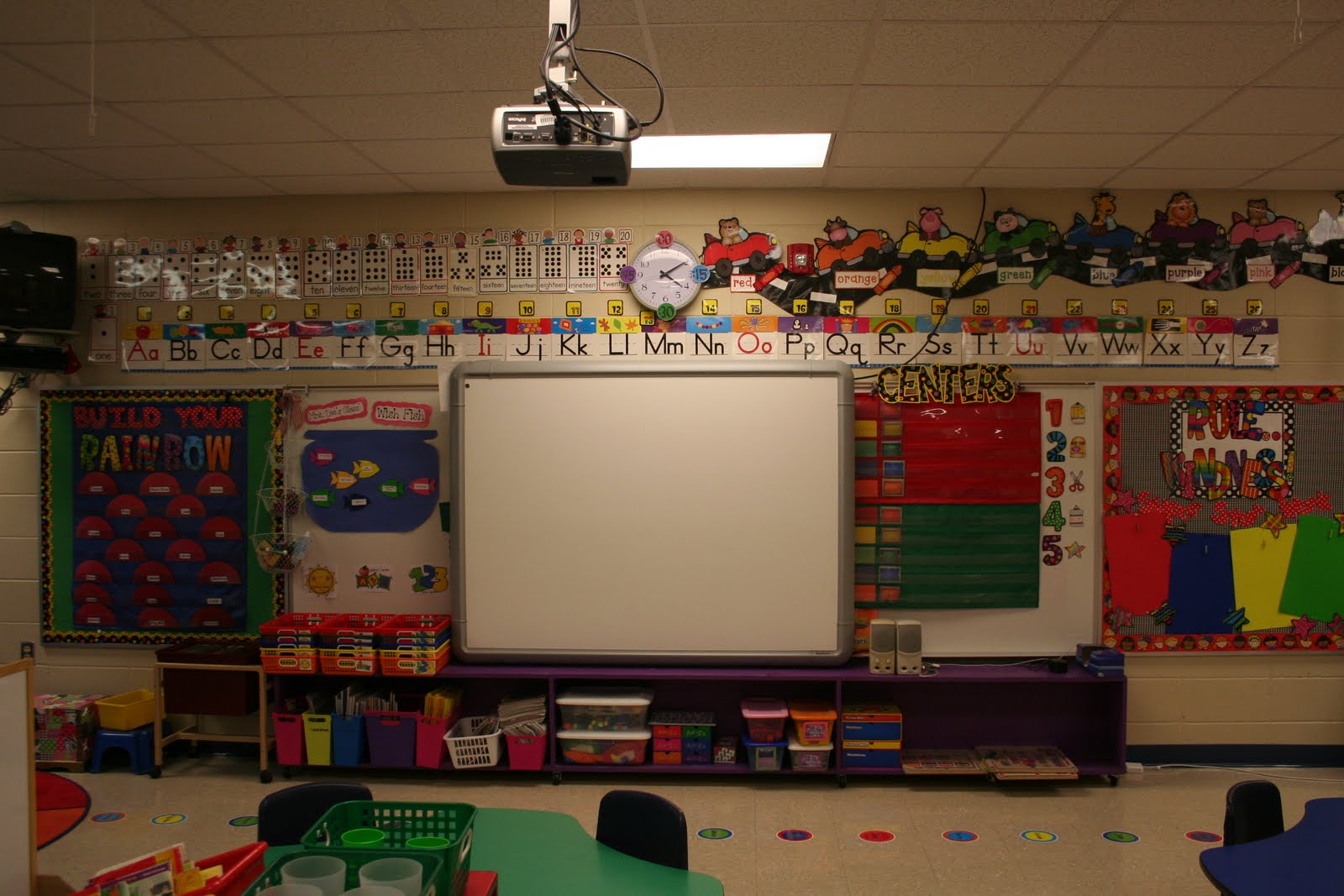 Classroom Board Ideas For Kindergarten ~ Mrs lee s kindergarten new classroom pics