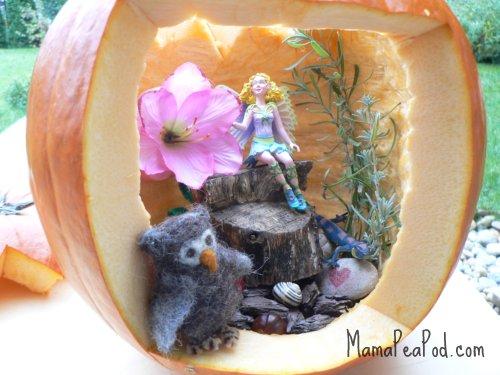 halloween pumpkin fairy world