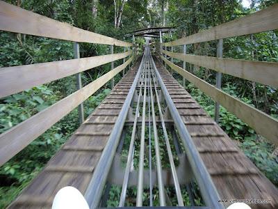 Dalat city - Datanla waterfall - have fun with sliding the hang up