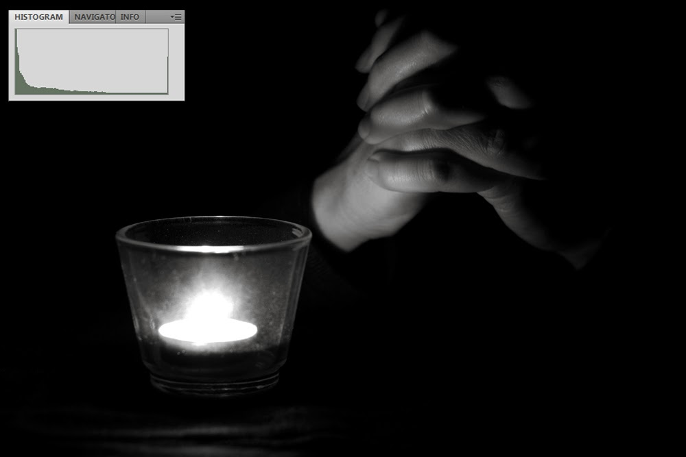 Low Key Black and White Photograph of Hands | Boost Your Photography