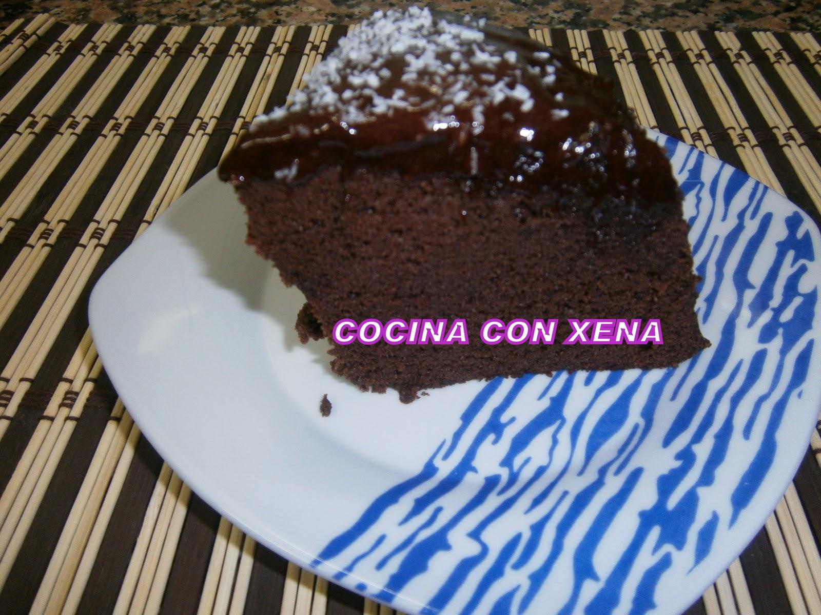 Cocina con xena bizcocho de chocolate en microondas en - Bizcocho microondas 3 minutos ...