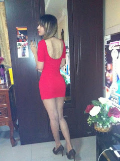 Votey Teav Khmer Girl Sexy Red Robe 8