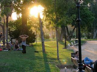 Parc de la Ciutadella, barcelona, park, juggling