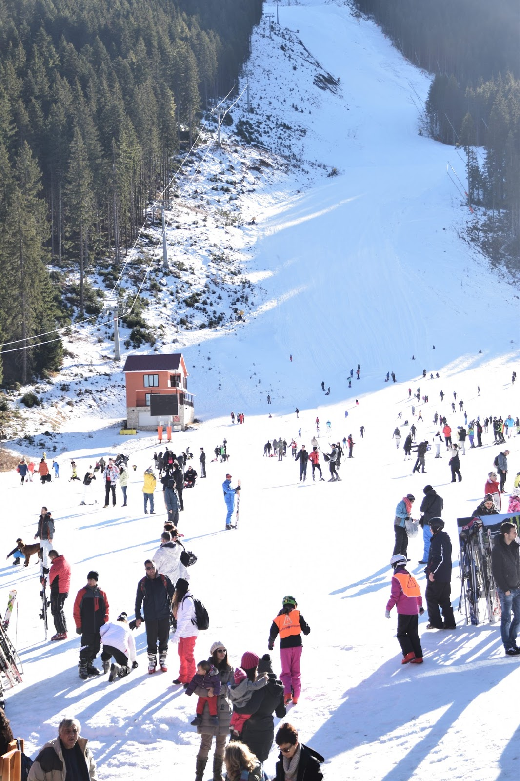Skiing and Snowboarding at Bansko Ski Resort