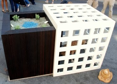 Dreams du dog barkitecture dream doghouses for Architecture and design dog house