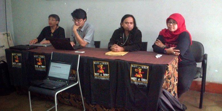 Sejumlah Lembaga Tolak PLTSa Gedebage Bandung