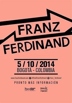 poster franza ferninand Bogotá