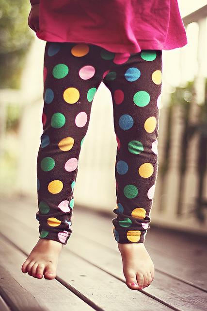 jumping polka dot
