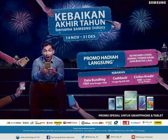Promo Samsung Galaxy Desember 2015 Edisi Akhir Tahun