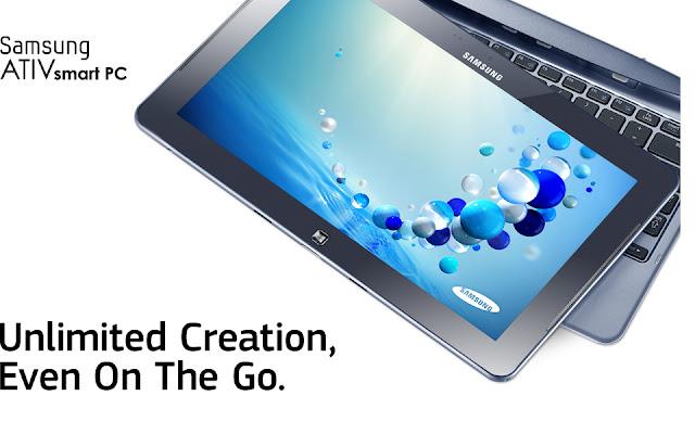 Harga Samsung ATIV Smart PC dan Spesifikasi 2013