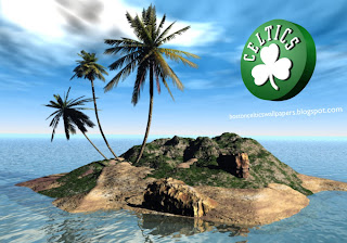 Boston Celtics desktop Wallpapers Celtics Left Logo in 3D Island Desktop wallpaper