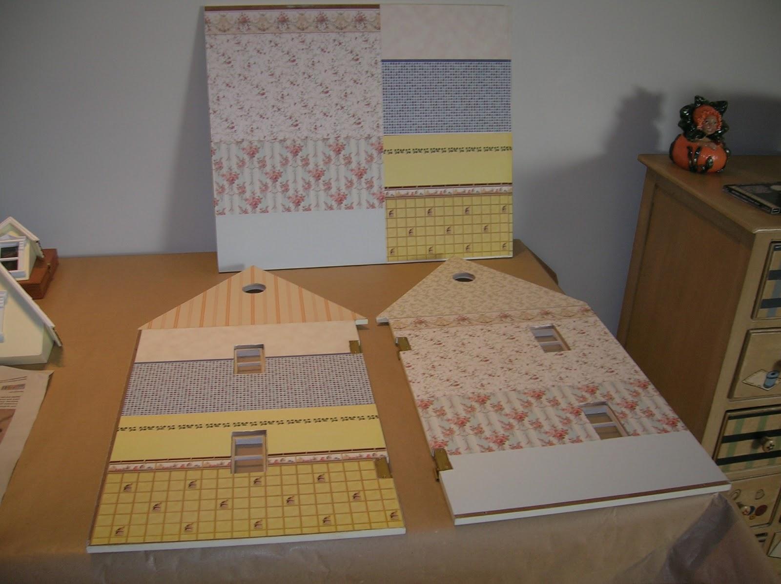 Mi casa de mu ecas empapelado for Precio de papel para empapelar paredes