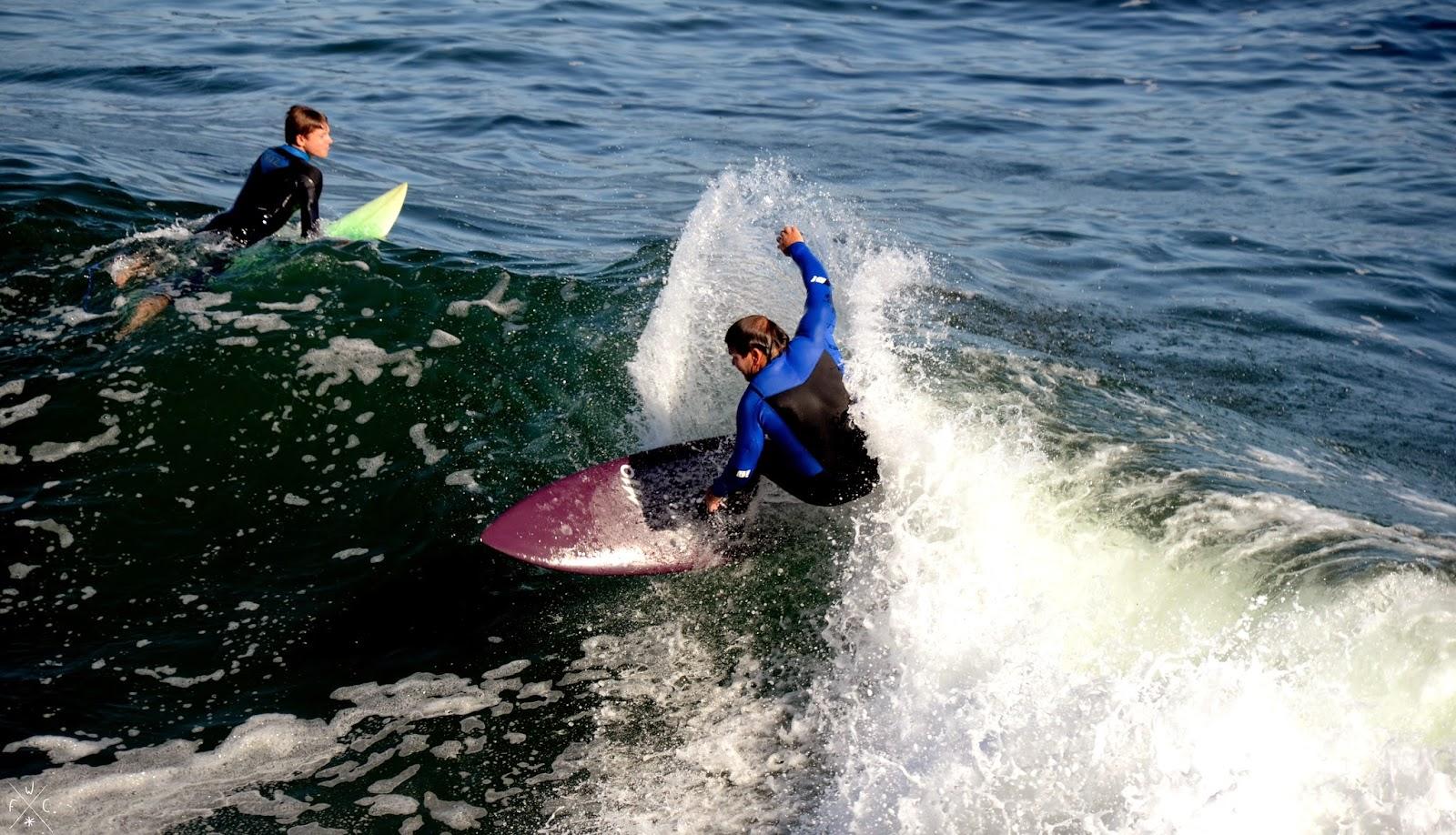 Surf - Steamer Lane - Santa Cruz, California