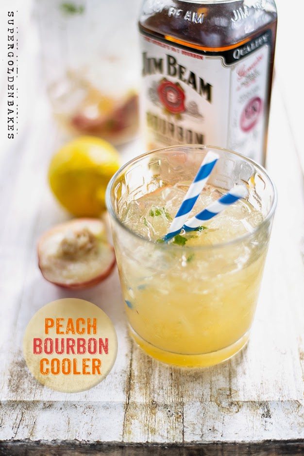 Peach Bourbon Cooler
