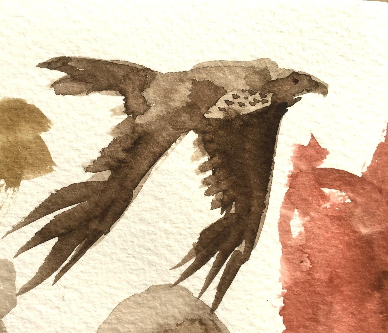 Watercolor Study - doodle by Artmagenta