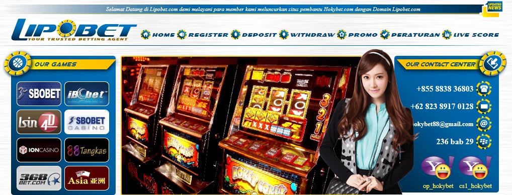 tampilan halaman depan situs lipobet.com, Agen Casino Online Terpercaya (Sbobet Casino/338a, Unobet, Guavita, Soa888, Asia8bet, Ion Casino)